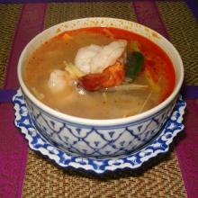 T1 - soupe crevettes citronnelle